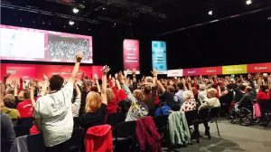 Historic immigration vote at Labour Conference represents sea change in attitudes among UK labour movement