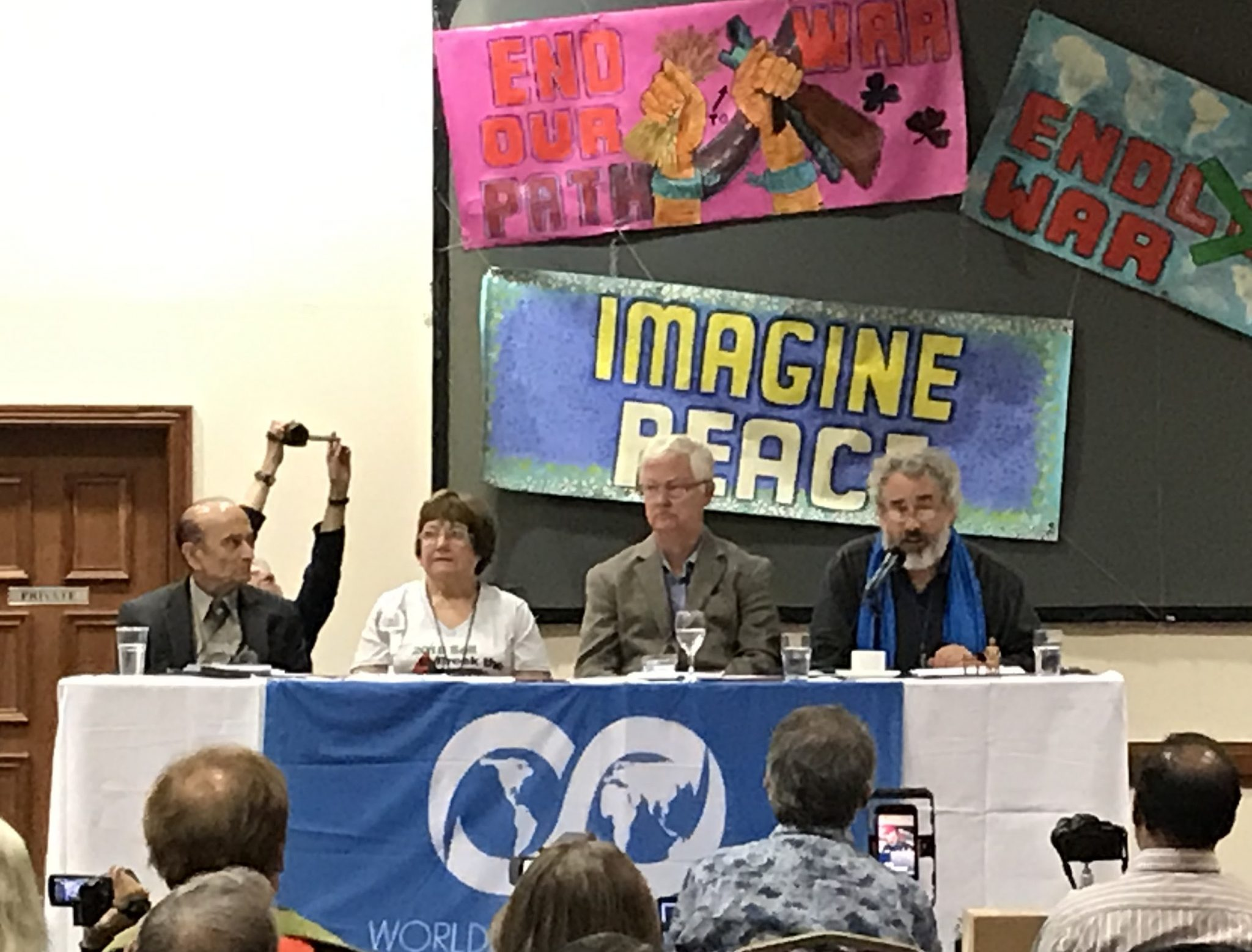 Pathways to Peace: Mairead Maguire's remarks at #NoWar2019