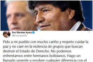 Avión mexicano hizo escala en Perú rumbo a Bolivia por Evo Morales