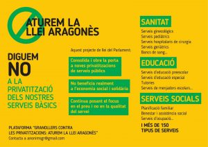 La Llei Aragonès: una eina indispensable per a una administració arbitrària
