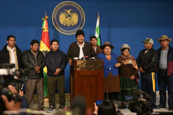 El bando de la Humanidad en Bolivia