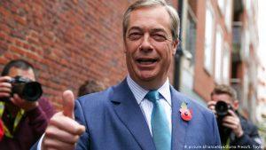 Líder do Partido Brexit não vai disputar eleição britânica