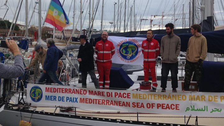 Logbook of the Mediterranean for Peace Boat of the World March for Peace and Nonviolence