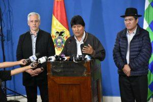 Evo Morals calls new general elections