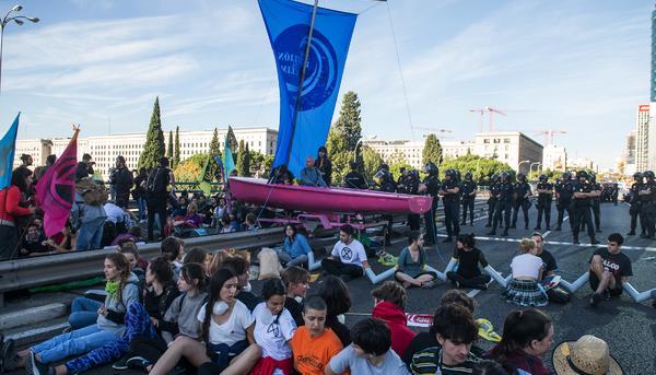 Con la COP25 en Madrid urge una marea por la justicia climática