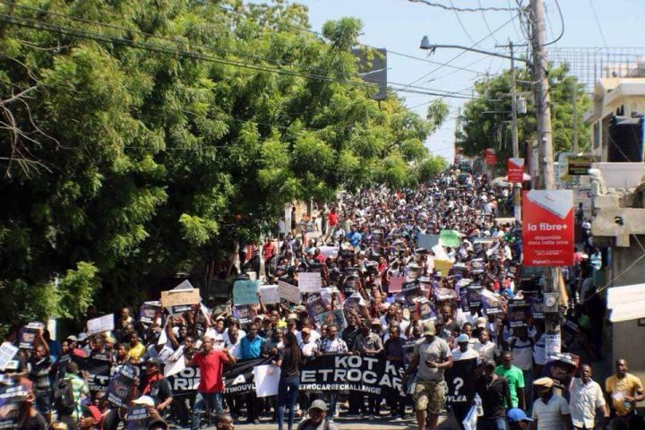 Haiti awakens: protests bring the country to a standstill