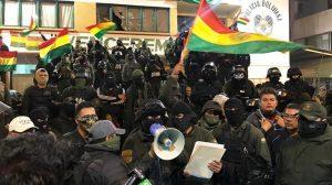 Bolivia, crisis en la Policía y comunicado de Evo Morales