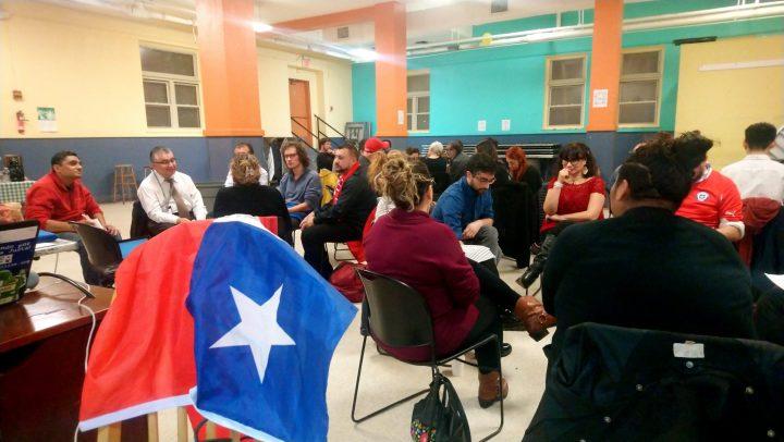 Chilenas y chilenos organizan Cabildo comunitario en Washington DC