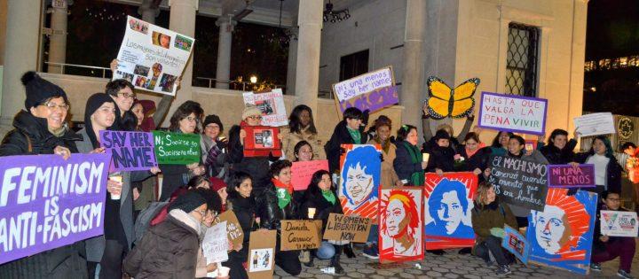 Vivas Nos Queremos! Mujeres de Latinoamérica y el Mundo, Salieron a Poner un Alto a la Violencia.