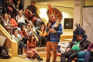 """""""Nós, jovens indígenas, não somos apenas o futuro, somos o hoje e o agora"""""""