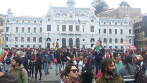 Grève générale au Chili. Valparaíso : Jusqu'à ce que la dignité devienne une coutume