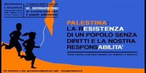 Giornata ONU di solidarietà con il popolo palestinese a Milano