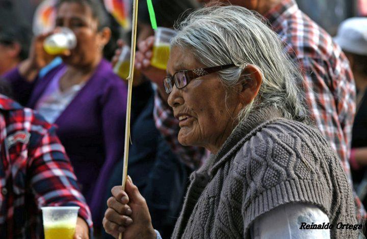 Mujeres indígenas: «No se trata de un hombre, se trata de un pueblo»