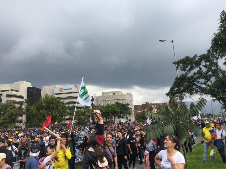 National strike in Colombia