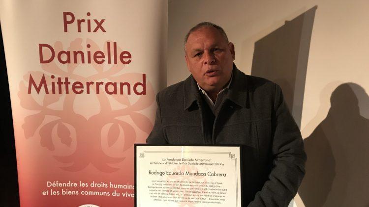 mundaca modatima premio danielle mitterrand francia chile
