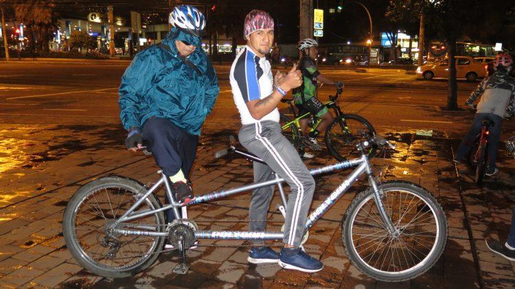 Bicicletas de doble asiento para personas con discapacidad visual