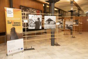 "L'exposició fotogràfica ""ElinfviernoSerbio"" s'inaugura a Barcelona"