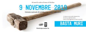 9 Novembre prima giornata di mobilitazione contro tutti i muri