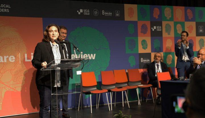 L'alcaldessa de Barcelona assumeix la relació mundial de les ciutats amb Nacions Unides