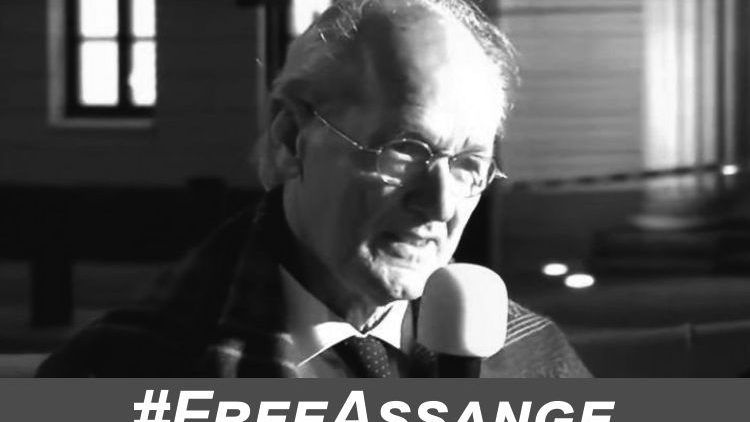 John Shipton kämpft um das Leben seines Sohnes - Julian Assange