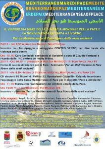 Dal 24 al 26 Novembre iniziative a Livorno e Pisa per la Seconda Marcia Mondiale per la Pace e la Nonviolenza