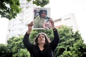 #NiUnaMenos: los padres de Lucía Pérez entregaron carta a Alberto Fernández