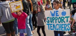 Why Striking Teachers Across America Are Fighting for Much More Than Their Paychecks