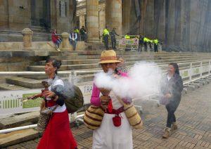Mujeres saumeras suman fuerza en las movilizaciones en Colombia