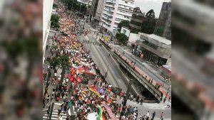 Ato em Solidariedade ao povo boliviano reúne mais de 5 mil pessoas