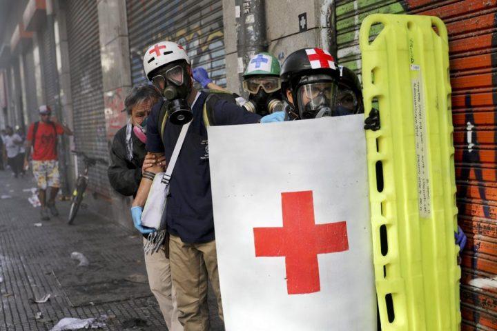 Cile: la dignità si paga con gli occhi