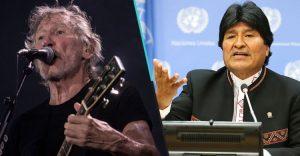Roger Waters solidarisiert sich mit Boliviens Präsident Morales