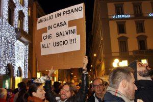 Le Sardine sbarcano a Firenze