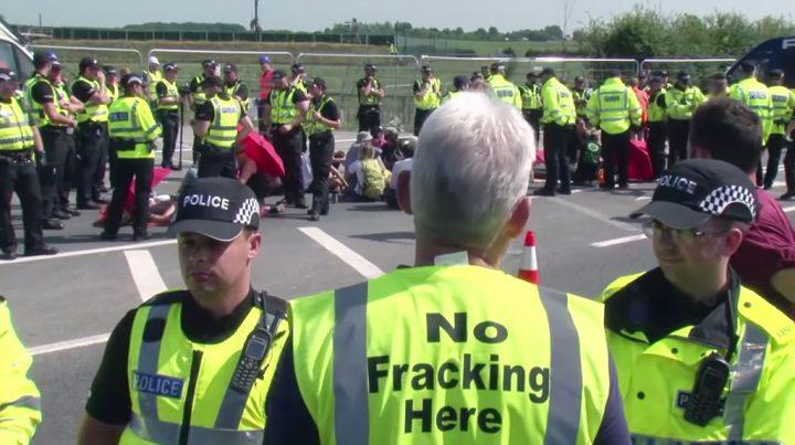 Fracking en el Reino Unido: el accionar de la policía amenaza el derecho a la protesta