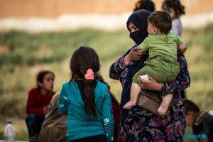 Unicef/Siria: quasi 28.000 bambini di oltre 60 paesi rimasti bloccati nel nordest, la maggior parte in campi per sfollati