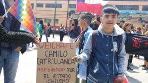Valparaíso conmemora a Camilo Catrillanca