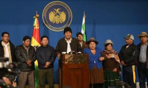 Após convocar novas eleições, Evo nega renúncia e denuncia continuidade do golpe