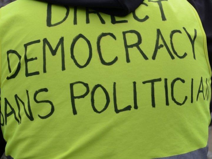 """Acto 53 de los Gilets Jaunes (Chalecos amarillos). Testimonio después de 1 año de manifestaciones: """"Debemos encontrar una salida a este sistema"""""""