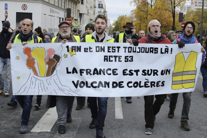 Acte 53 des Gilets Jaunes : «La France est sur un volcan de colères»