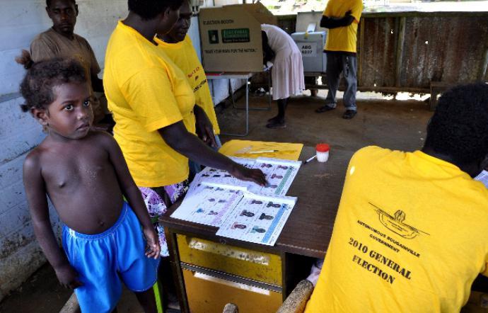 Si vota a Bougainville per decidere sull'indipendenza da Papua Nuova Guinea