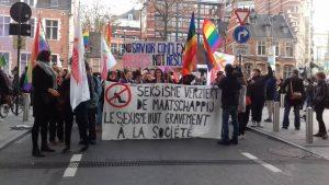 Βρυξέλλες: πορεία για τη βία κατά των γυναικών