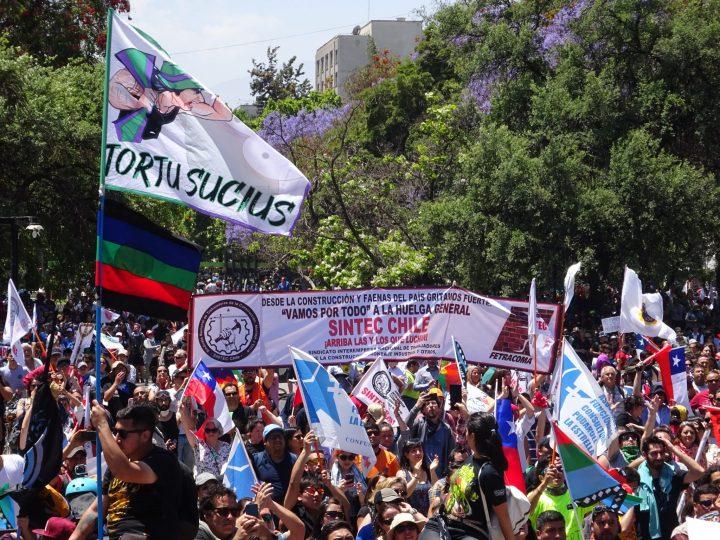 Χιλή – γενική απεργία: η μέρα των συνδικάτων