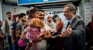 Profughi: mercoledì 27 novembre nuovo arrivo dal Libano con i corridori umanitari di Sant'Egidio e Chiese protestanti