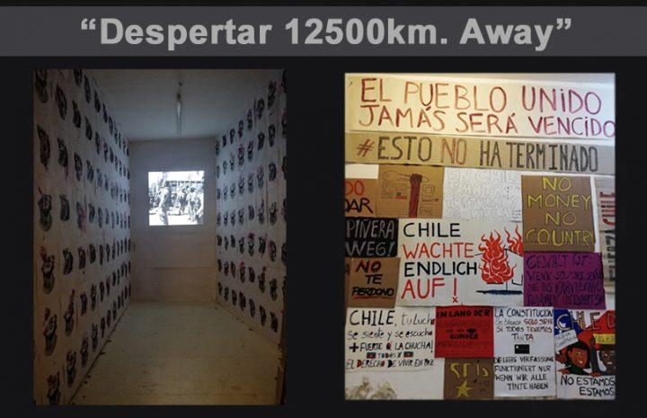 Αλληλεγγύη στη Χιλή – Βίντεο από Art Installation στο Βερολίνο
