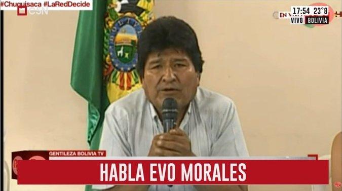 In Bolivia si è dimesso il presidente Morales