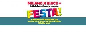 Milano, Festa Solidale Per Riace