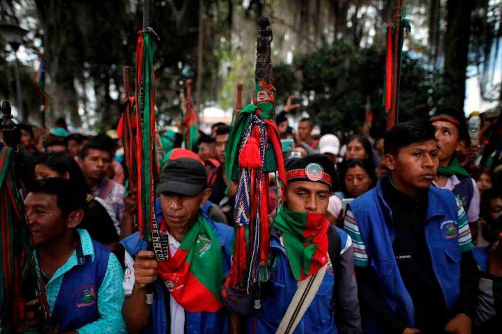 """Cauca, Colombia: «Solicitamos la renuncia del Ministro de Defensa"""": Consejero Mayor Indígena"""