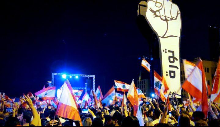 Liban : vidéos des manifestations populaires maintenues depuis trois semaines