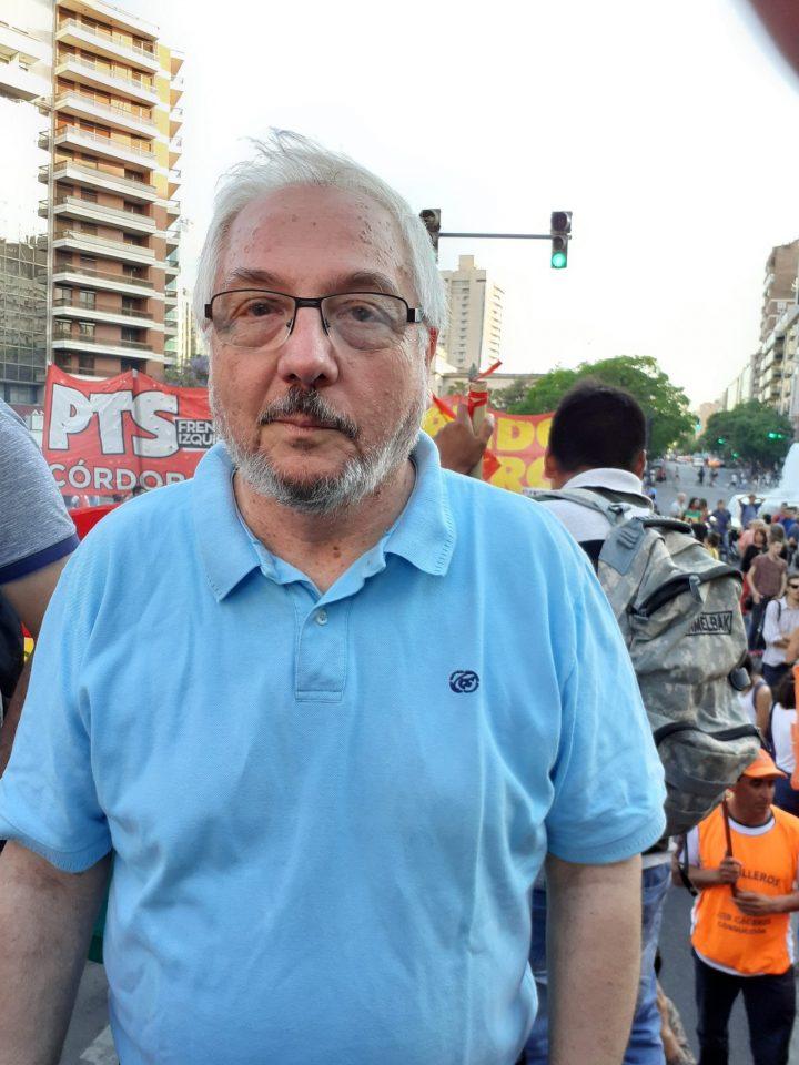 manifestación repudio golpe Bolivia en Cba 031