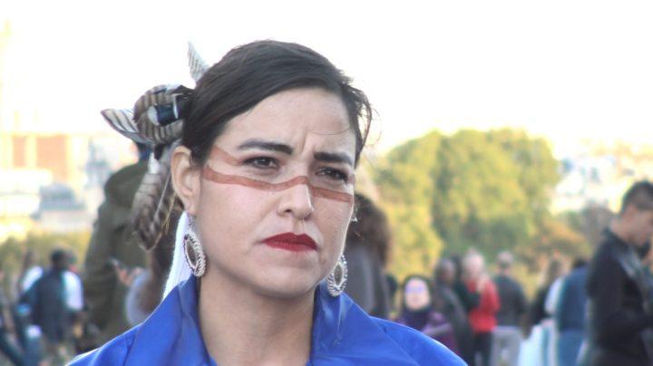 Michelle Cook, indienne Navajo, à Paris: «Nous unir pour protéger ce qui est sacré»
