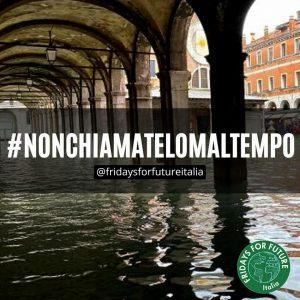 """FFF Italia: """"La crisi climatica è già qui e sta causando morti e ingenti danni economici. Perché non riconoscerlo?"""""""